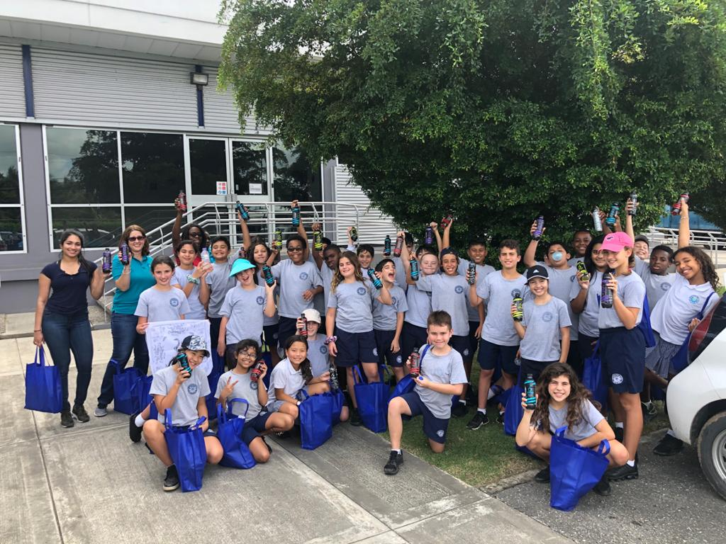 5th Grade Visits Blue Waters